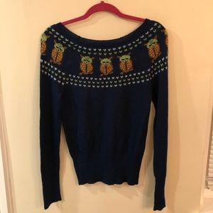 Lux Sweaters - Urban Outfitters Owl Sweater
